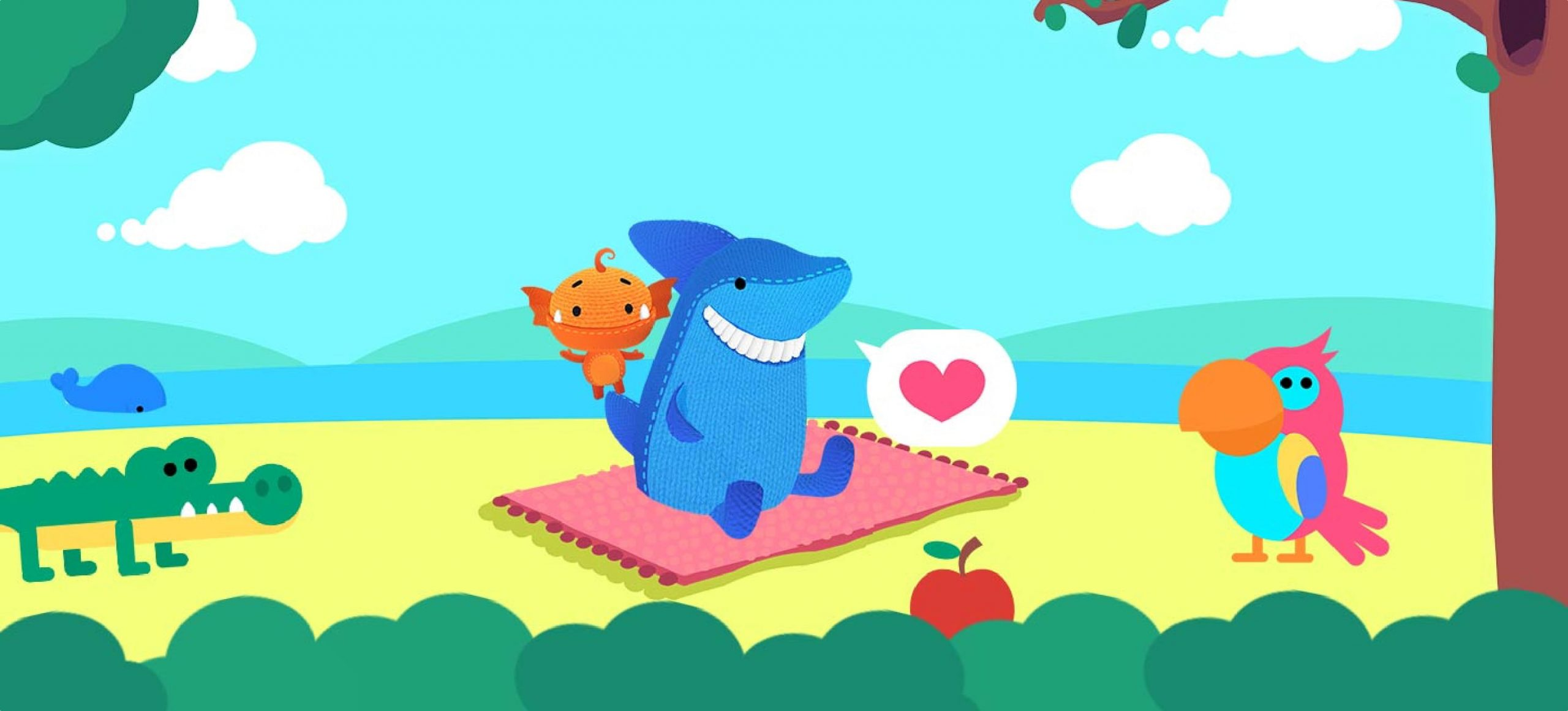 Finnish company adds German to its language-training app for children